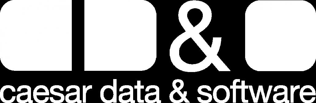 Logo caesar data & software - Online-Buchungssystem, IBE, Homepage-Buchbarkeit, Web Design