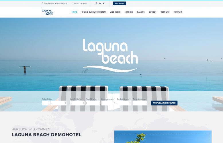 Webdesignfür Hotels - Modern, strukturiert und nach Ihren Wünschen erstellt