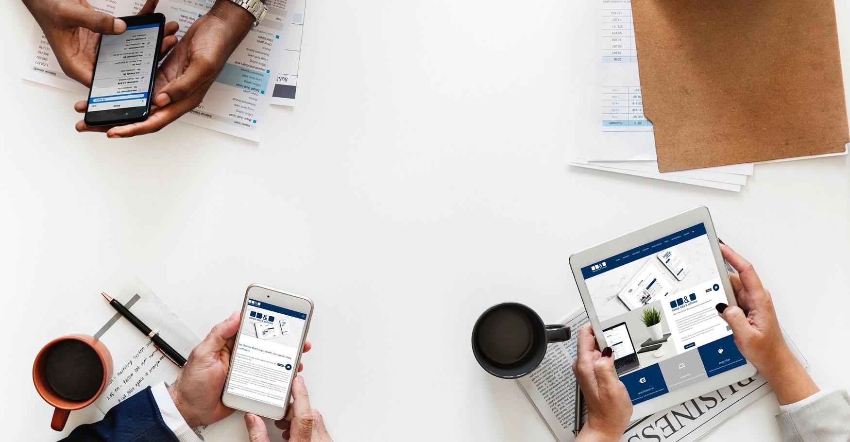 Kontakt - caesar data & software - Online-Buchungssystem, IBE, Homepage-Buchbarkeit, Web Design