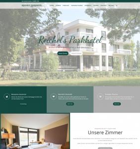 Reichels Parkhotel Bad Windsheim Referenz Kunde Web Design für Hotels Webdesign für Hotels caesar data & Software