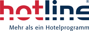 Logo hotline Hotelsoftware - Partner von caesar data & software Hotelprogramm